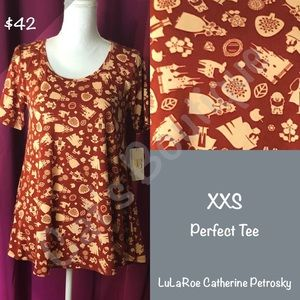 LuLaRoe Collection for Disney Perfect T